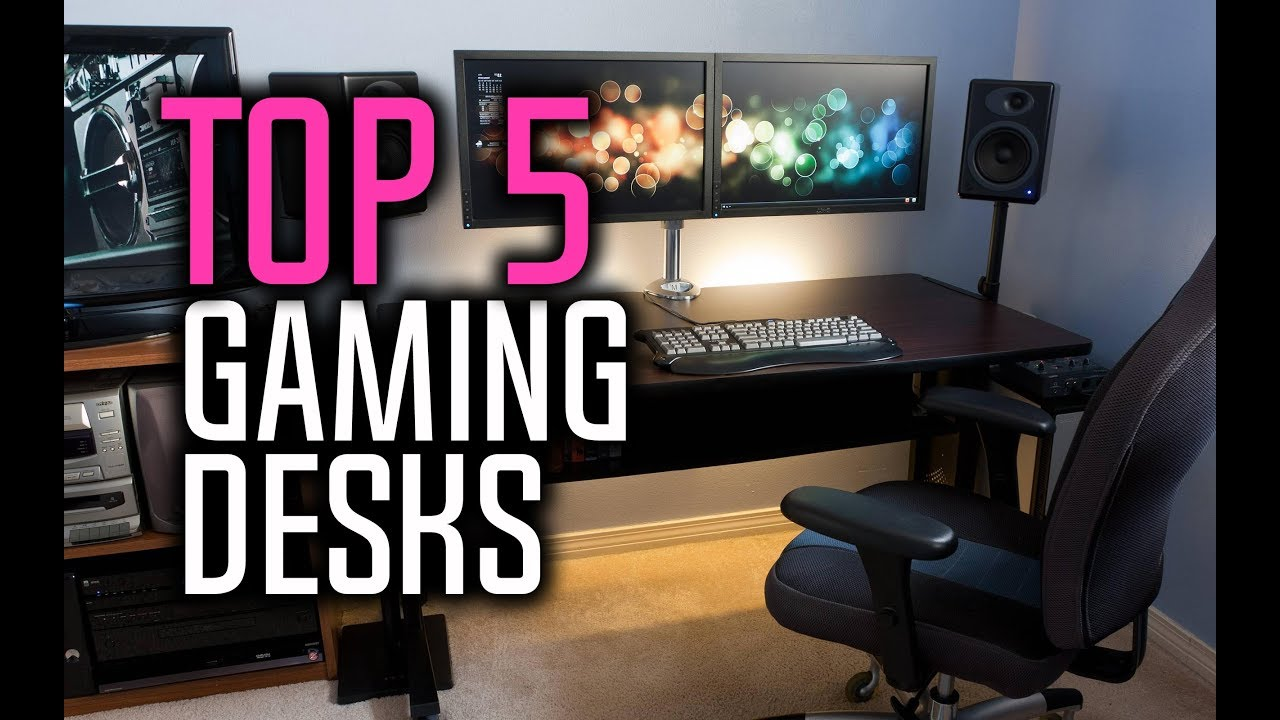 Best Gaming Desks In 2018   Which Is The Best Gaming Desk?