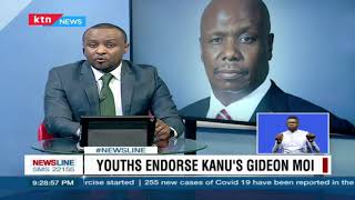 Timely Endorsement: Youth endorse KANU's Gideon Moi ahead of 2022 election