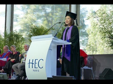 HEC Paris Class of 2017 MBA Student Speaker
