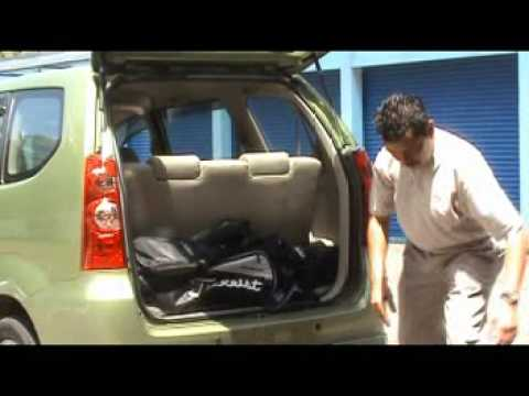 Proton Exora Luggage Space Comparison With Avanza And