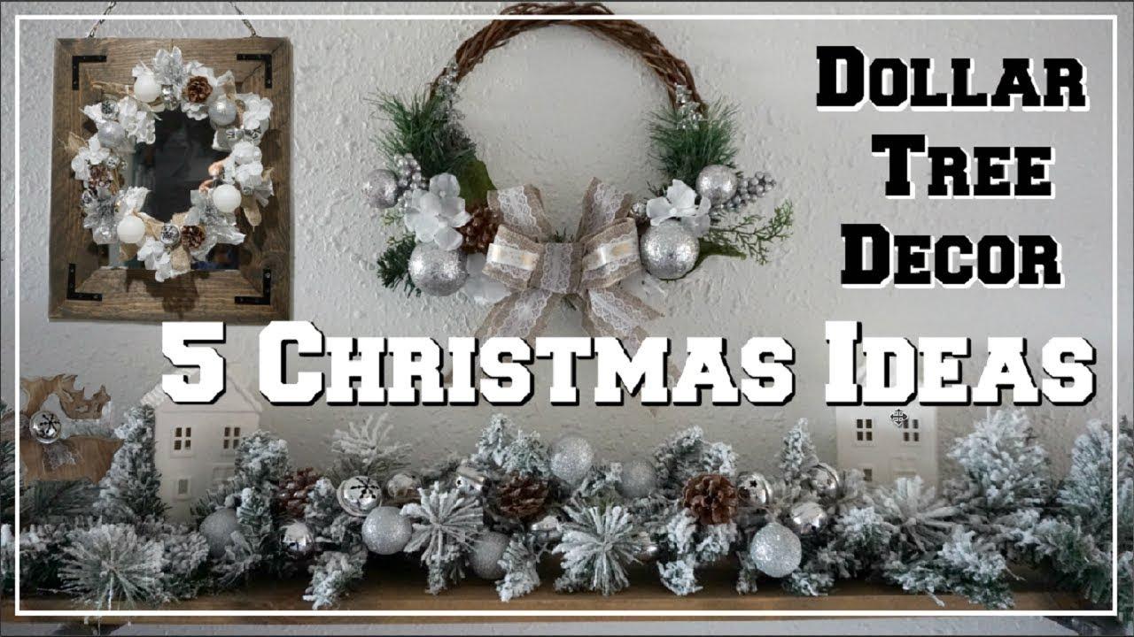 5 Dollar Tree Diy Christmas Decor Ideas Winter