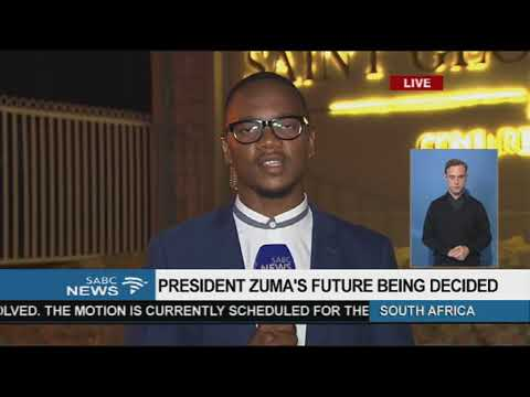 President Zuma\'s future being decided, Aldrin Sampear reports