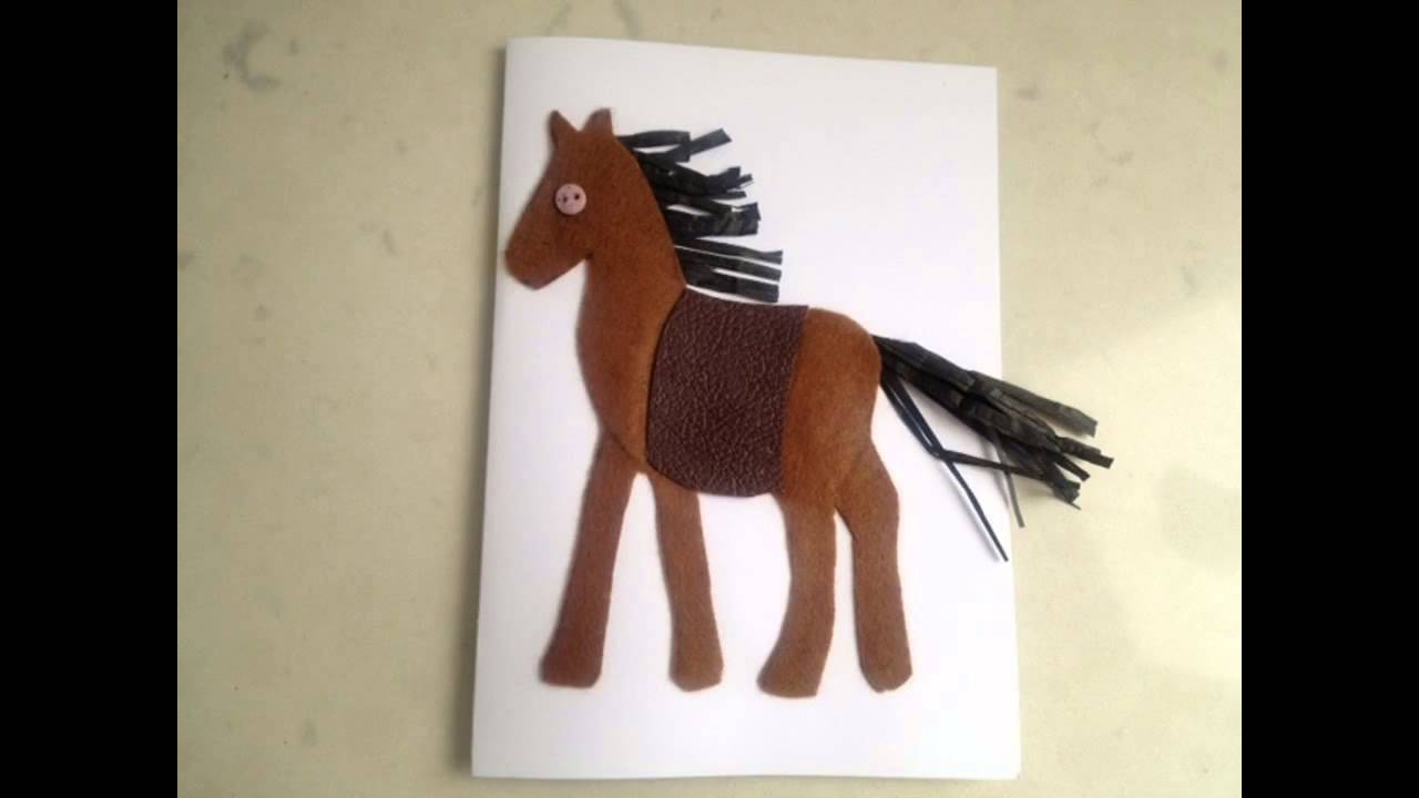 Easy diy horse crafts for kids youtube easy diy horse crafts for kids solutioingenieria Choice Image