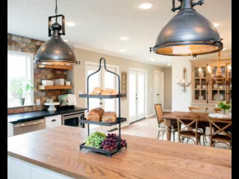 Our Favorite Fixer Upper Kitchen Makeovers YouTube - Fixer upper kitchen light fixtures