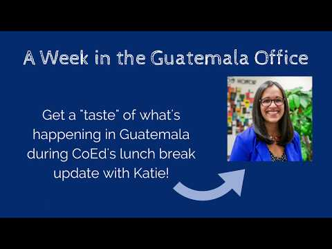 A Week in the Guatemala Office