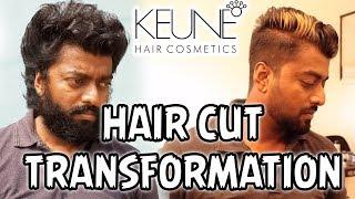 HAIR CUT TRANSFORMATION   KEUNE chennai