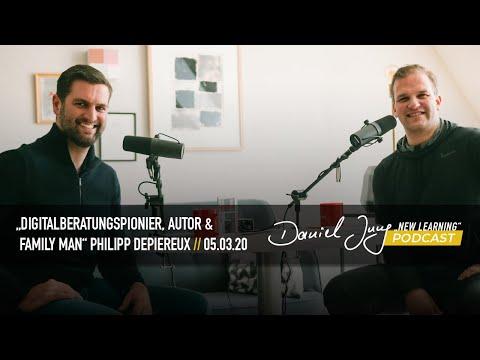 "New Learning Talk mit ""Digitalberatungspionier, Autor & Family Man"" Philipp Depiereux"