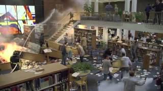 В библиотеке не шуметь!