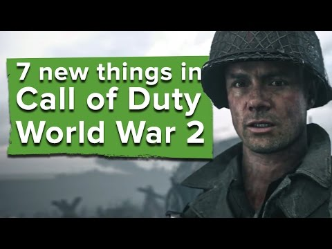 Thumbnail: 7 new things in Call of Duty WW2 - Call of Duty WW2 gameplay