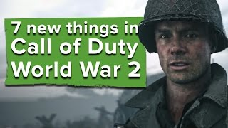 7 new things in Call of Duty WW2 - Call of Duty WW2 gameplay