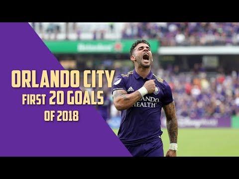 Orlando City SC   First 20 Goals of 2018
