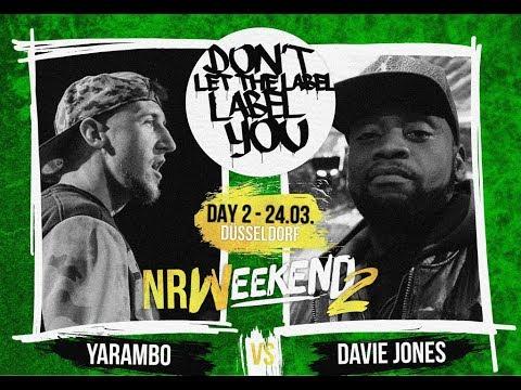 Yarambo vs Davie Jones // DLTLLY RapBattle (NRWeekend2 // Düsseldorf) // 2018