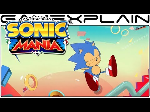Sonic Mania - Alternate Opening (New Music & Sound Effects!)