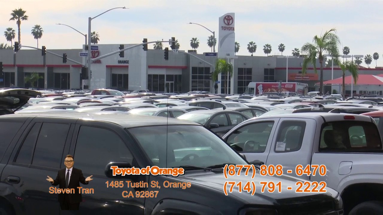 Toyota Of Orange >> Toyota Of Orange Steven Tran Youtube