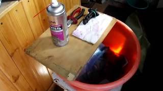 Чистка ДМРВ с помощью очистителя карбюратора (ВАЗ 2115)