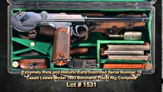 Rare, Historic WWI & WWII German Weapons - September 2014