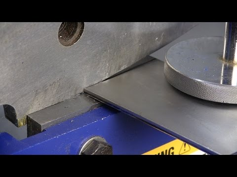 """Must Have For Cutting Metal - 8"""" Bench  Shear from Eastwood"""