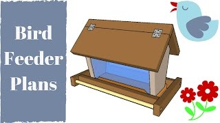 http://gardenplansfree.com/animals/bird-feeder-plans-free/ ▻SUBSCRIBE for a new DIY video almost every day! It is essential to ...