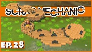 Scrap Mechanic - Ep. 28 - Mechanical Snake! - Let
