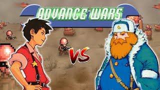 Advance Wars 2 PvP: Andy vs Olaf - Custom Map