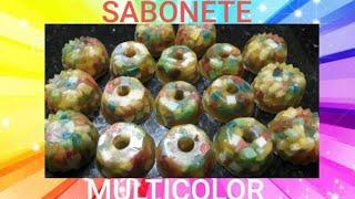 Sabonete Multicolor Espumante