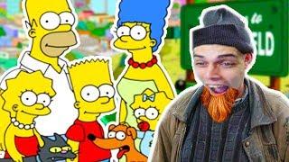 ВЫЖИВАНИЕ БОМЖА В МИРЕ СИМПСОНОВ ! - Simpsons Hit And Run Прохождение #9