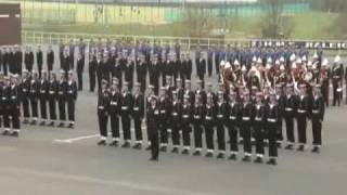 HMS Raleigh 24/4/09 Pass Out Parade