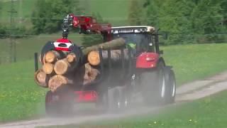 Forstkran und Rückewagen von STEPA