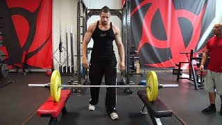 Clean from Blocks: How to Set Up and Properly Perform the Olympic Weightlifting FOR QUADRICEPS