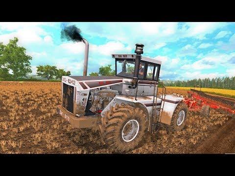 BIG BUD 450 WORKING THE LAND & CINEMATIC | Upton Farm Ep 7
