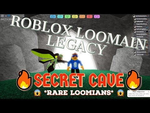 SECRET CAVE IN LOOMIAN LEGACY ROUTE 5??? II Roblox Loomian Legacy