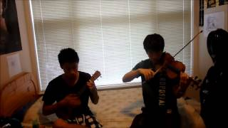 Somewhere Over the Rainbow - Violin and Ukulele
