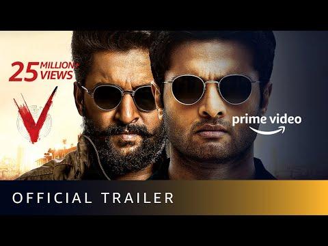 V - Official Trailer | Nani, Sudheer Babu, Aditi Rao Hydari, Nivetha Thomas | Sept 5