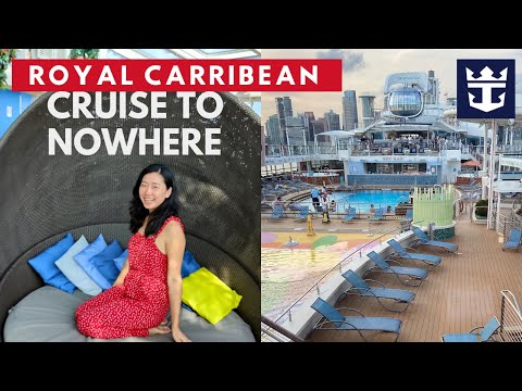 $900+ Royal Carribean Cruise to Nowhere | Traveling in Singapore?