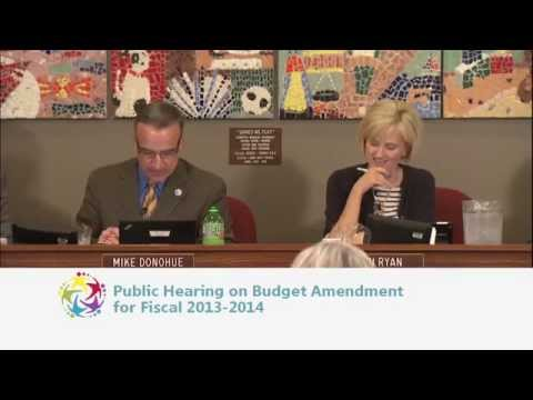 May 12, 2014 - School Board Meeting