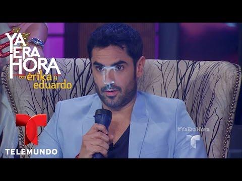 Lincoln Palomeque se despide de su personaje de 'Manuelito'  Ya Era Hora  Telemundo