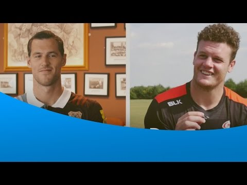 Duncan Taylor and Tim Visser take on the London Double Header Quiz