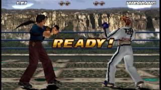 Tekken Tag 1 ( Arcade ) - Lei / Gun Jack Playthrough ( July 20, 2016 )