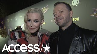 Jenny McCarthy On Why She Thought Husband Donnie Wahlberg Was One Of 'The Masked Singer' Contestants Video
