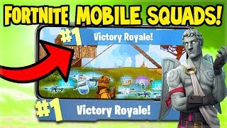 Fortnite MOBILE Gameplay - 3 WINS IN A ROW! - iOS Fortnite (Fortnite Mobile Gameplay)