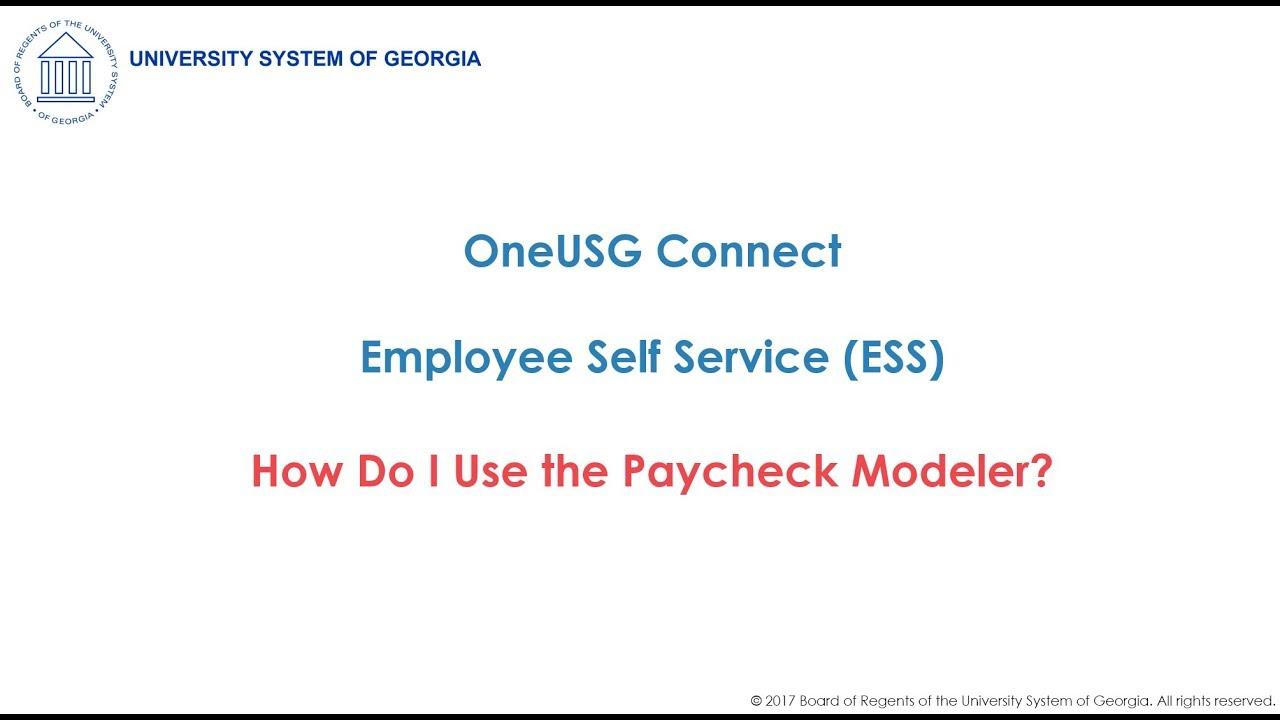 UWG   Payroll