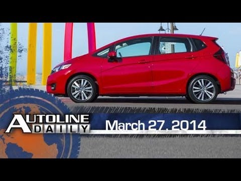 2015 Honda Fit is Packaging Magic - Autoline Daily 1343