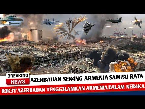 BERITA TERKINI ~ SER4NGAN R0K3T AZERBAIJAN TENGG3L4MKAN ARMENIA DALAM NER4KA ~ KABAR INFO MILITER