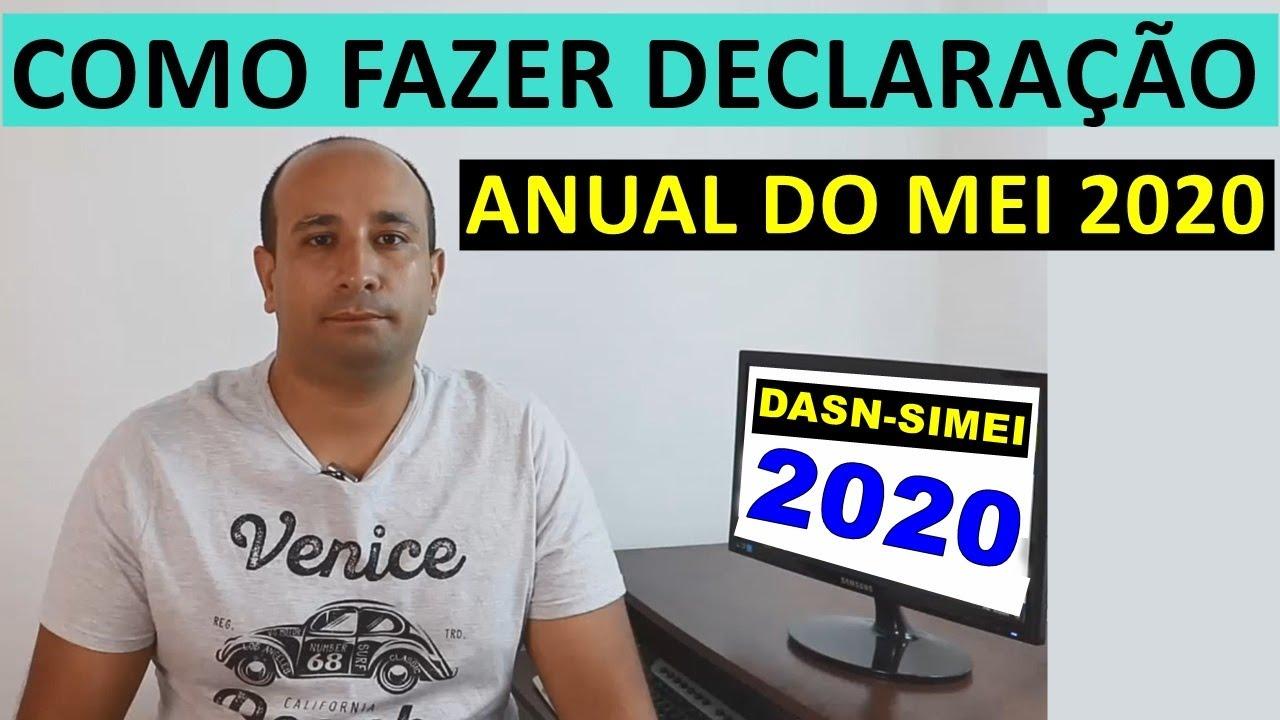 Como Fazer Declaração Anual Do Mei 2020 Dasn Simei 2020