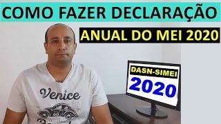 Como Fazer Declaração Anual Do Mei 2020 | Dasn-simei 2020
