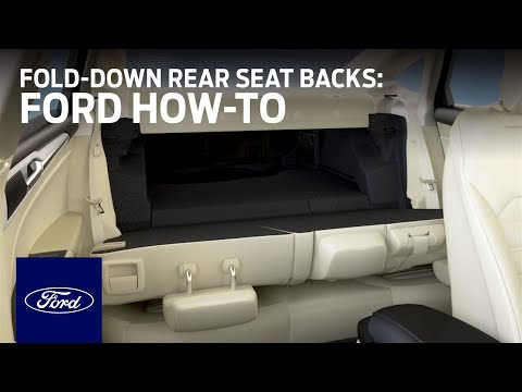 60/40 Split Fold-Down Rear Seat Backs | Ford How-To | Ford