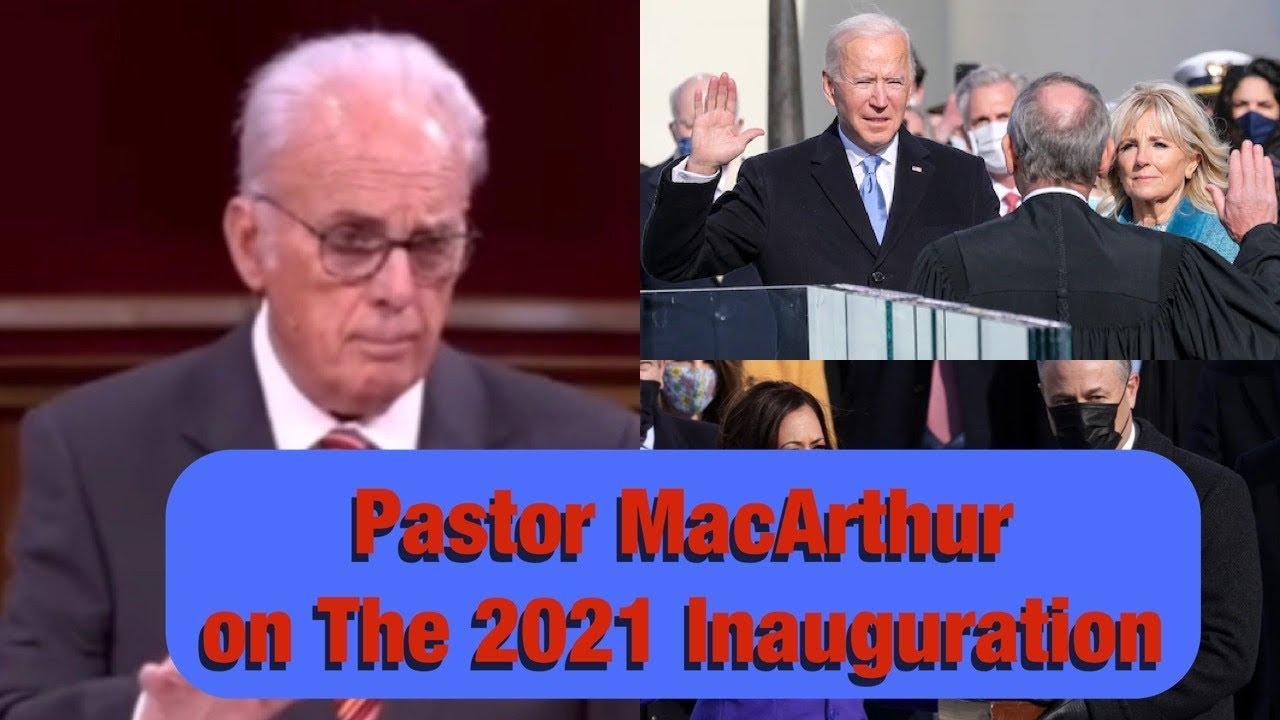 Download John MacArthur comments on President Biden
