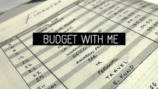 January Budget With Me | BiWeekly Budget System
