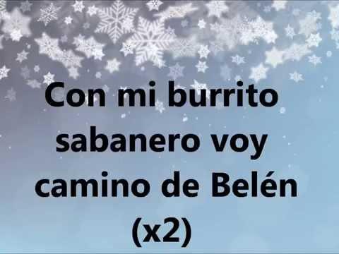 Mi Burrito De Belen - ( With Lyrics )