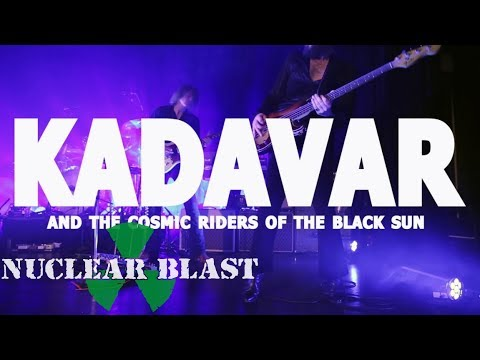 KADAVAR - Orchestrating 'Heimathafen'  With 'The Cosmic Riders Of The Black Sun (OFFICIAL TRAILER)